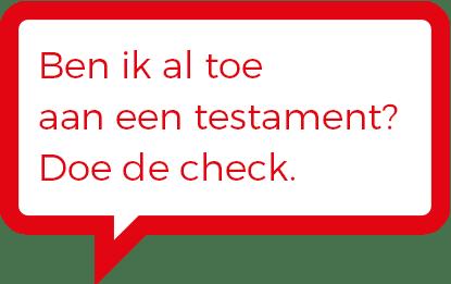 Checklist testament