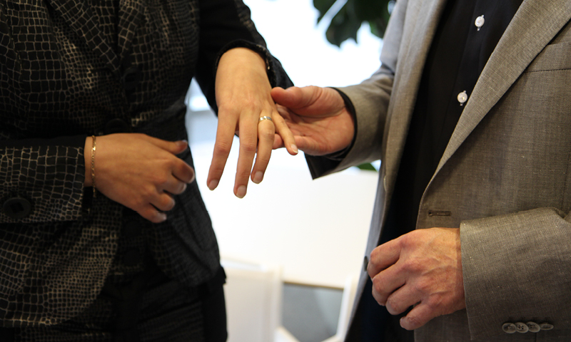 samenwonen, trouwen of registeren als partners