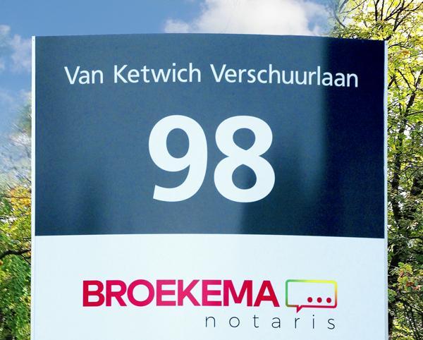 Nieuw adres Broekema notaris